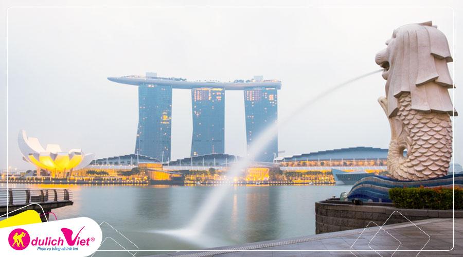 Du lịch Singapore - Batam - Malaysia mùa Thu từ Sài Gòn giá tốt
