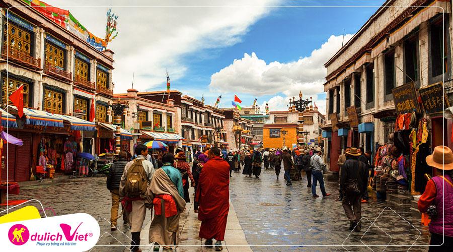 Du lịch Châu Á - Du lịch Tây Tạng mùa Thu huyền bí từ Sài Gòn giá tốt 2019