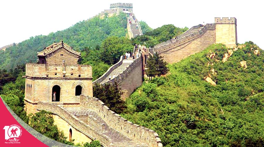 Du lịch Trung Quốc Bắc Kinh - Vạn Lý Trường Thành từ Sài Gòn giá tốt 2019
