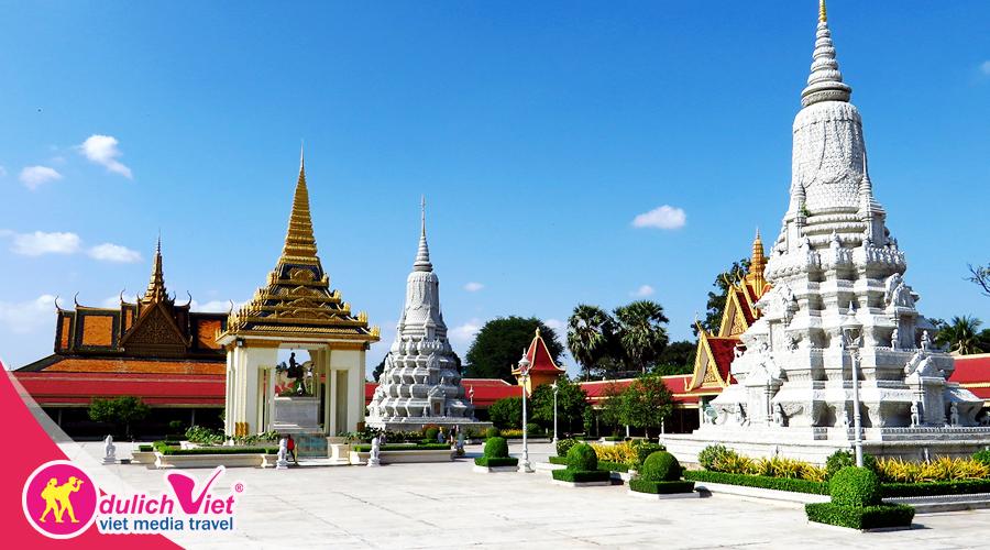 Du lịch Campuchia Siem Reap - Phnom Penh dịp Lễ 30/4 khởi hành từ Sài Gòn 2019