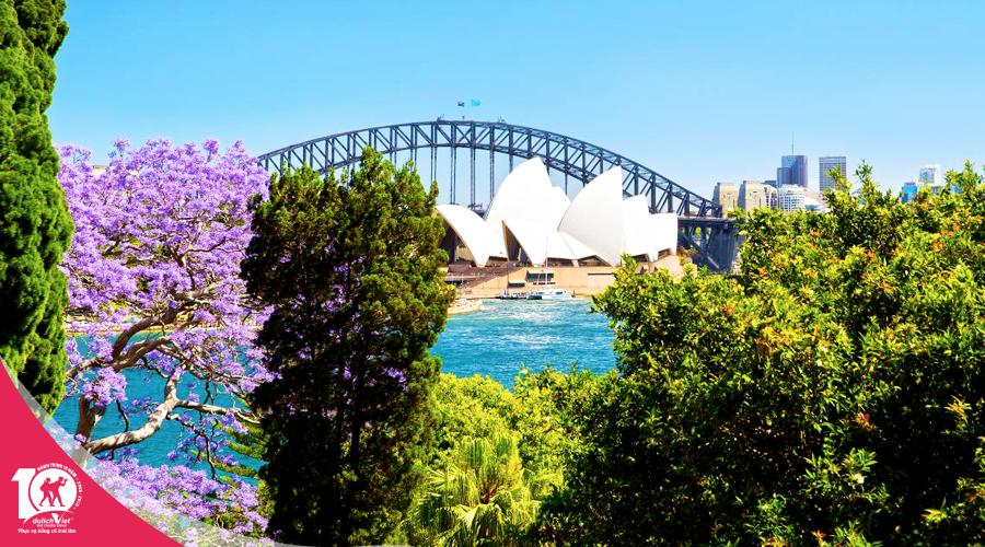 Du lịch Úc - Brisbane - Gold Coast - Sydney - Melbourne từ Sài Gòn giá tốt
