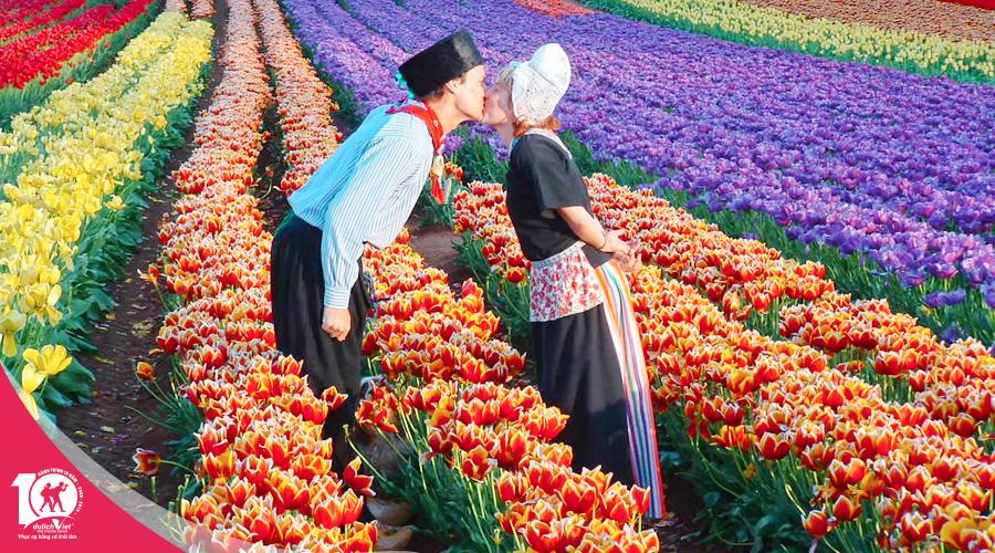 Du lịch Úc mùa xuân khám phá lễ hội hoa Tulip Melbourne - Sydney từ Sài Gòn 2019