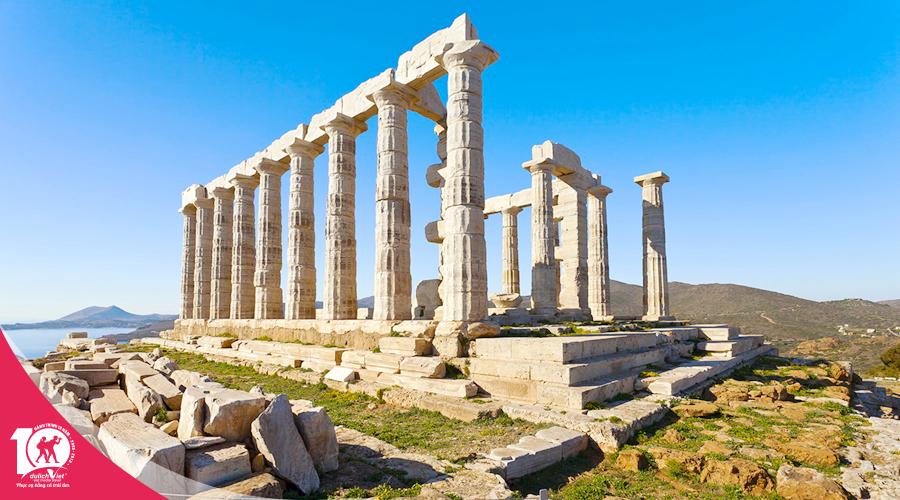Du lịch Hy Lạp mùa hè - Đất nước của những câu chuyện huyền thoại khởi hành từ Sài Gòn 2019