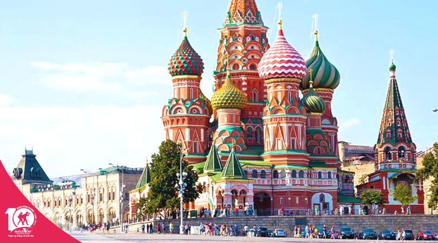 Du lịch Nga Moscow - Ngắm cực quang Murmansk từ Sài Gòn giá tốt 2019