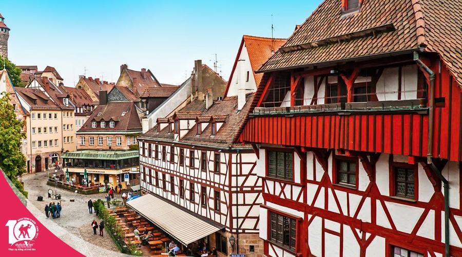 Du lịch mùa hè Tây Đông Âu Pháp - Lux - Đức - Séc - Slovakia - Hungary từ Sài Gòn 2019