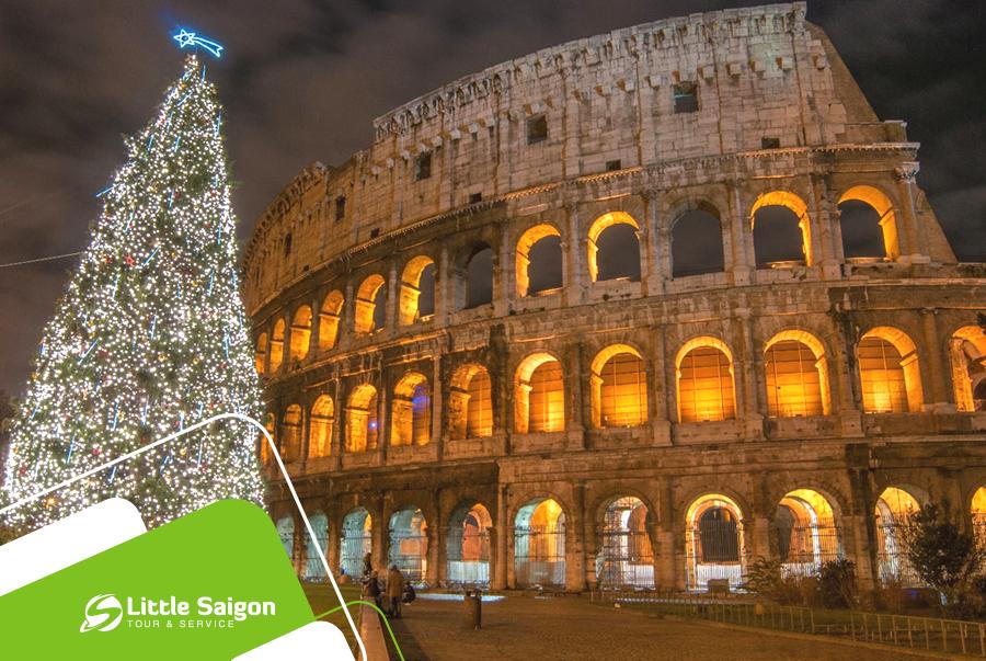 Du lịch Châu Âu - Pháp - Thuỵ Sĩ - Ý dịp Noel từ Sài Gòn giá tốt