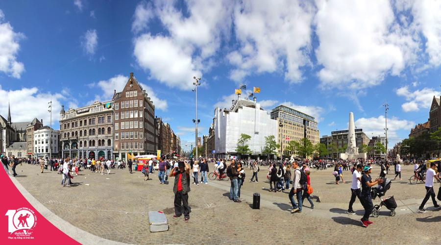 Du lịch Châu Âu Pháp - Bỉ - Hà Lan - Đức mùa xuân khởi hành từ Sài Gòn giá tốt 2019