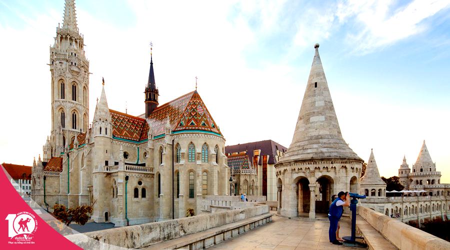 Du lịch Châu Âu - Séc - Áo - Slovakia - Hungary - Làng Hallstatt - Đức mùa Hè từ Sài Gòn giá tốt