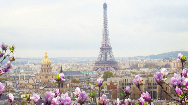 Cảnh đẹp mùa xuân ở Pháp