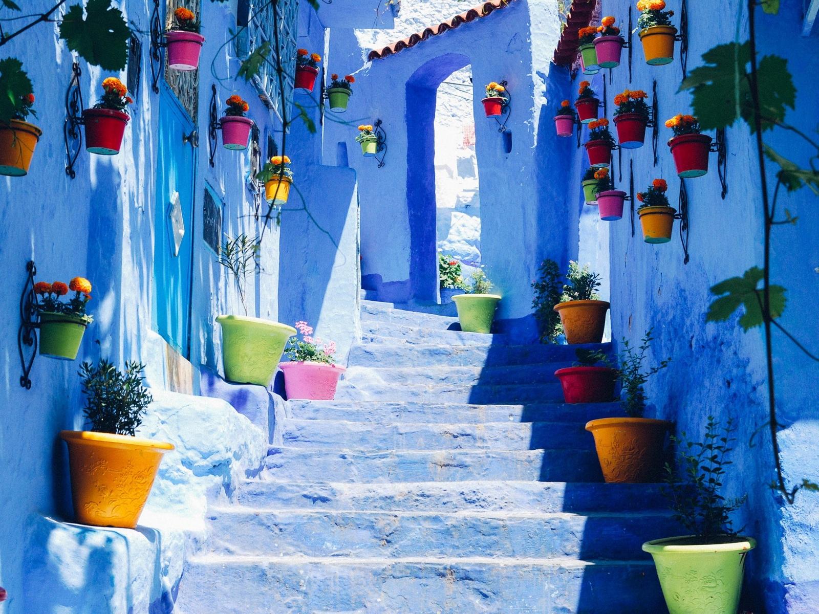 Chefchaouen thành phố xanh, Maroc