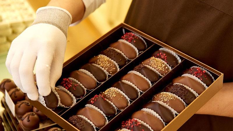 Chocolate Bỉ món quà lãng mạn ngọt ngào