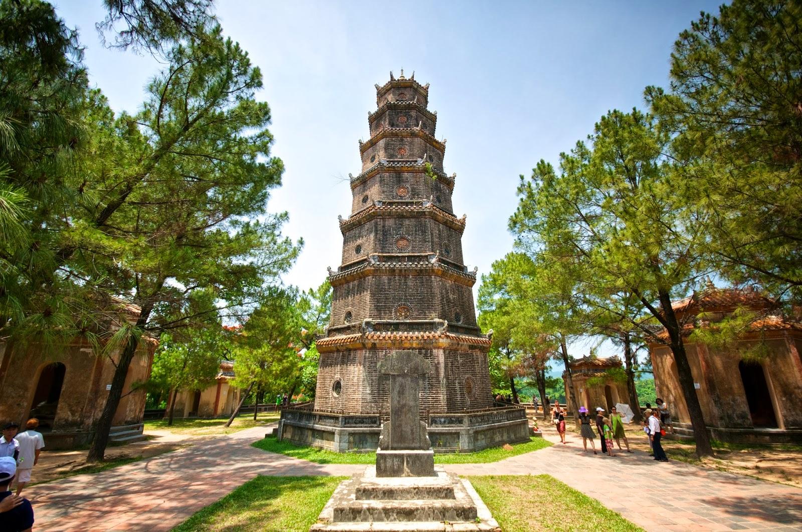 Chùa Thiên Mụ - Tour du lịch Huế