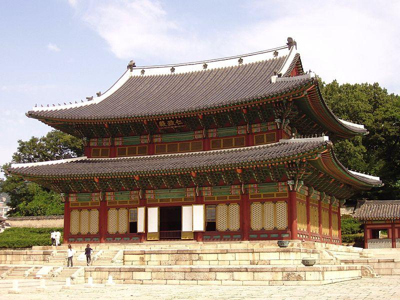 Cung dien Changdeokgung - Tour du lich mua thu Han Quoc