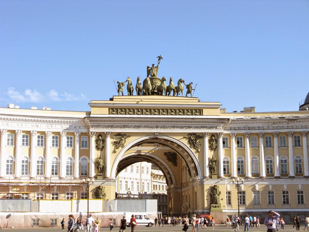 du lịch Nga - Cung điện mùa Đông