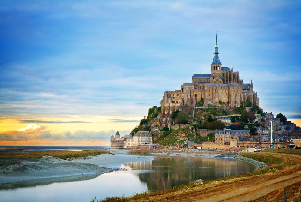 Du lịch Pháp - Đảo Mont Saint - Michel