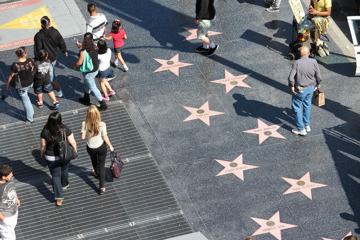 Du lịch Mỹ mùa Thu - Đại Lộ Danh Vọng Hollywood