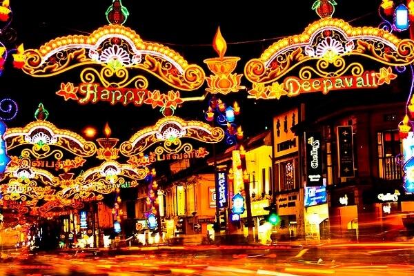 Du lịch Singapore mùa thu - lễ hội ánh sáng