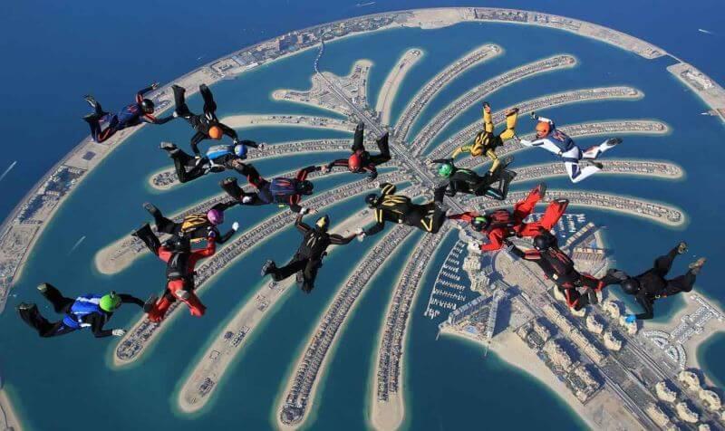Du lịch Châu Á khám phá đảo cọ Dubai