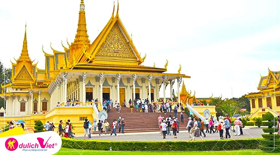 Du lịch Campuchia Tết Nguyên đán Siem Reap - Phnom Penh 4N3Đ từ Sài Gòn 2020