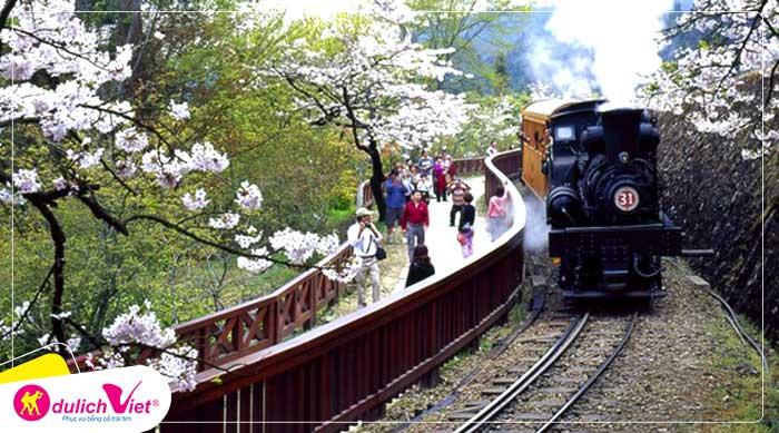Du lịch Đài Loan mùa hoa Anh Đào 5 ngày 4 đêm từ Sài Gòn giá tốt 2020