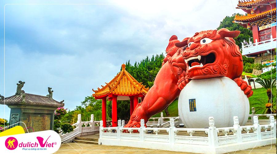 Du lịch Đài Loan Tết Nguyên đán Đài Bắc - Đài Trung - Cao Hùng giá tốt 2020
