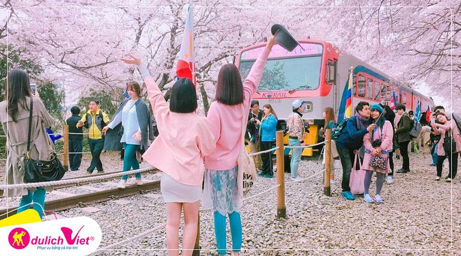 Du lịch Hàn Quốc mùa hoa Anh Đào 2020 từ Sài Gòn giá tốt