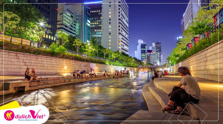 Du lịch Hàn Quốc - Seoul - Everland - Đảo Nami 4 ngày từ Sài Gòn giá tốt 2020