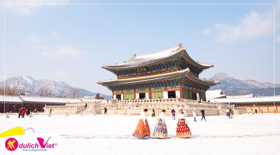 Du lịch Hàn Quốc mùa Đông Seoul - Everland - Đảo Nami từ Sài Gòn