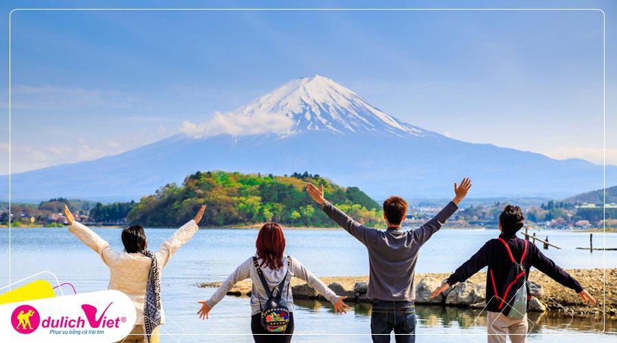 Du lịch Nhật Bản mùa Thu Nagoya - Osaka - Kyoto - Núi Phú Sĩ từ Sài Gòn giá tốt 2019