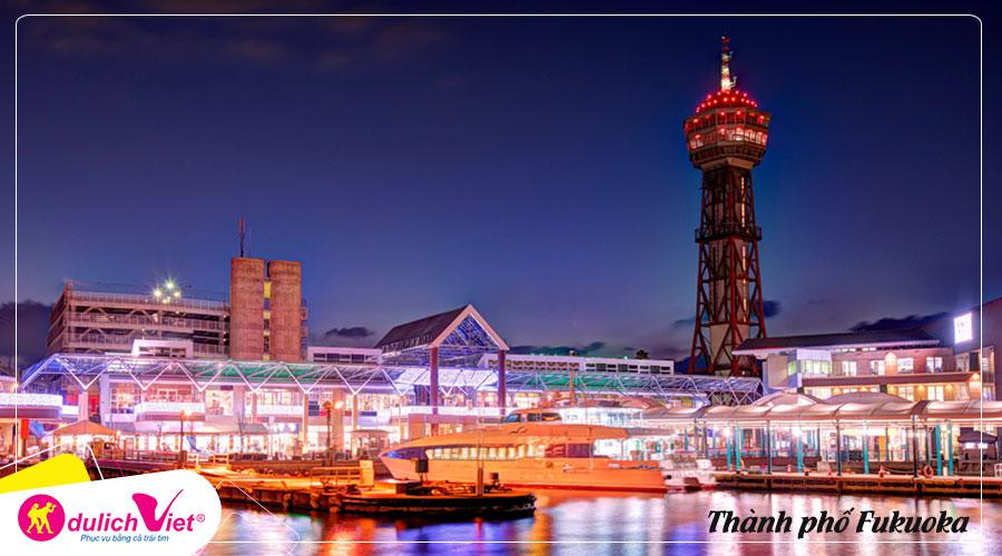 Du lịch Nhật Bản mùa Xuân Fukuoka - Kitakyushu 5 ngày 5 đêm từ Sài Gòn
