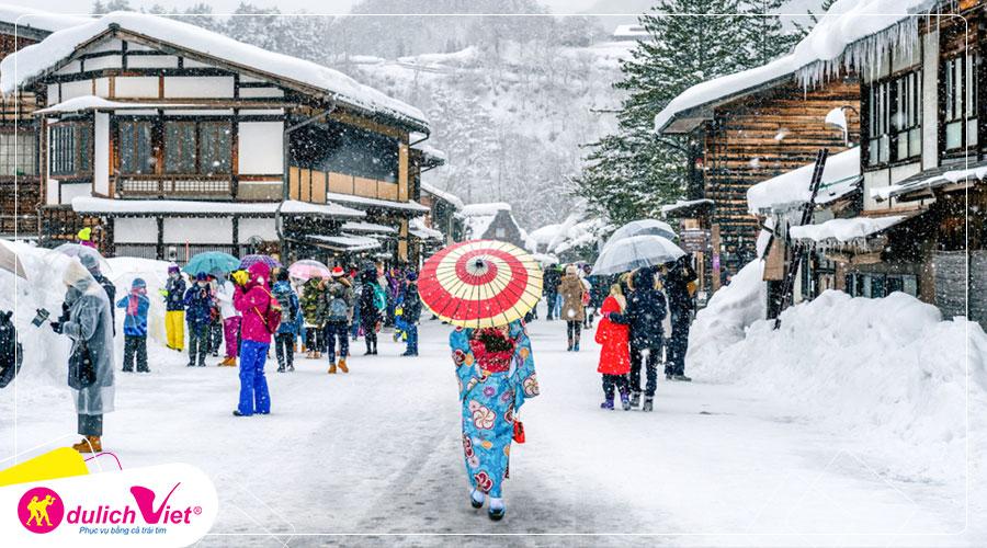 Du lịch Nhật Bản mùa Đông 4 ngày 4 đêm từ Sài Gòn giá tốt 2019