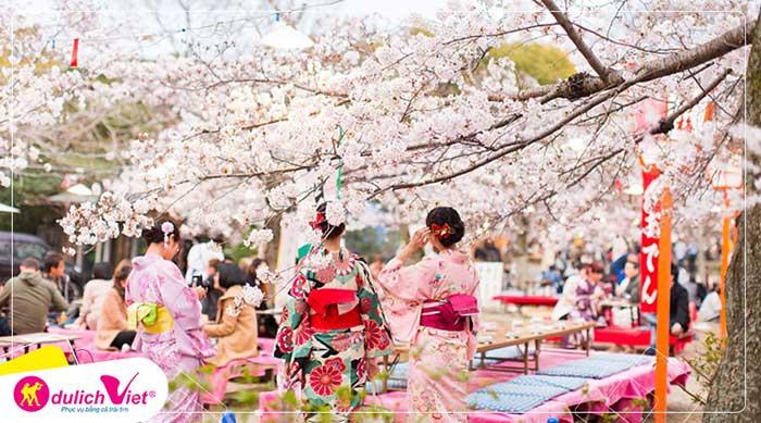 Du lịch Nhật Bản mùa hoa Anh Đào Osaka - Kyoto - Fuji - Tokyo từ Hà Nội giá tốt 2020