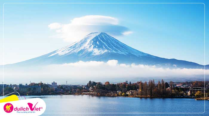 Du lịch Nhật Bản mùa hoa Anh Đào 4 ngày 3 đêm từ Sài Gòn giá tốt 2020