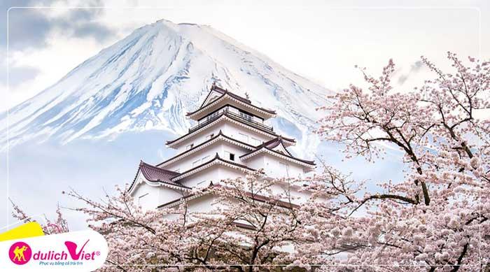 Du lịch Nhật Bản mùa hoa Anh Đào 6 ngày bay Vietnam Airlines từ Hà Nội giá tốt 2020