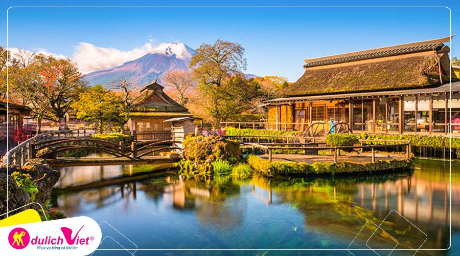 Du lịch Nhật Bản Tết dương lịch 5 ngày 5 đêm từ Sài Gòn giá tốt 2020