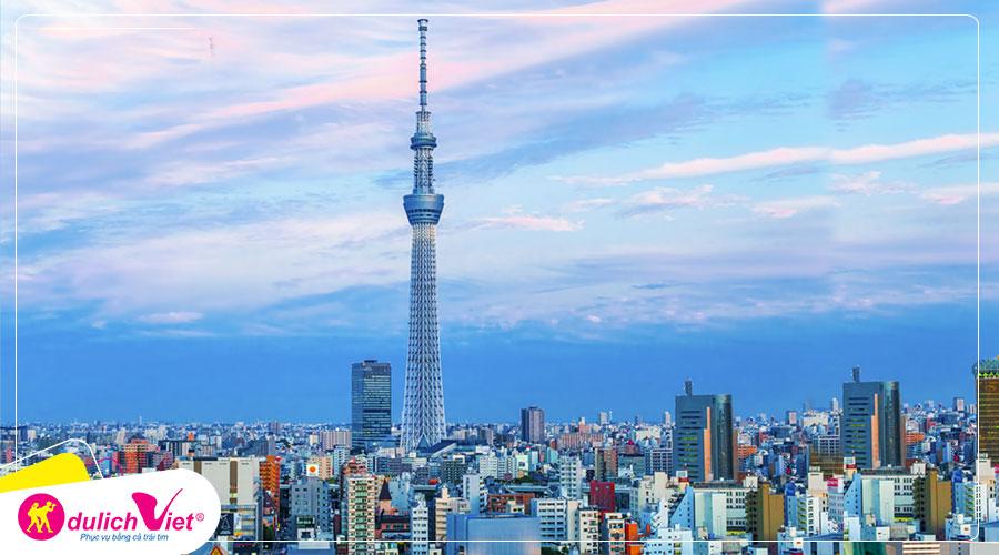 Du lịch Nhật Bản Tokyo - Hakone - Fuji - Odaiba từ Sài Gòn 2020