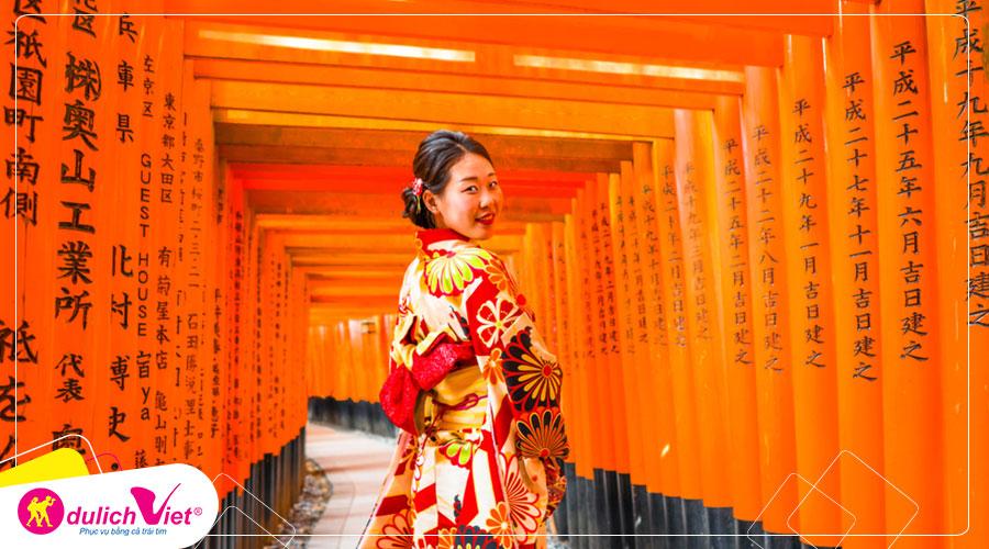Du lịch Nhật Bản mùa Thu Nagoya - Kawaguchico - Fuji - Tokyo từ Sài Gòn