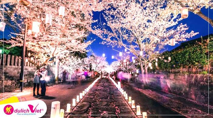 Du lịch Nhật Bản mùa hoa Anh Đào 4N4Đ từ Sài Gòn giá tốt 2020