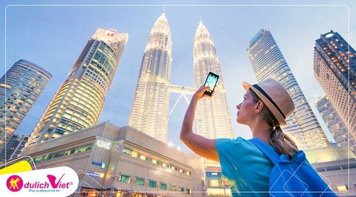 Du lịch Singapore Malaysia Hè bay Vietjet Air từ Sài Gòn giá tốt 2020
