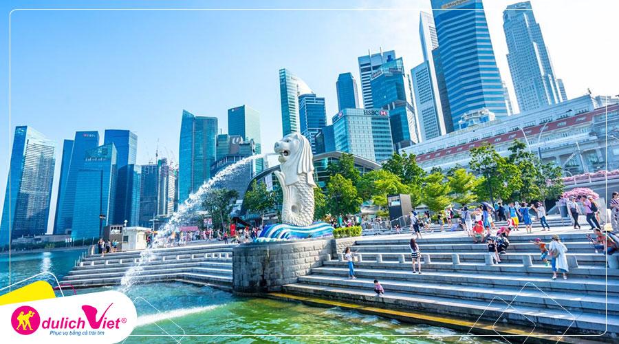Du lịch Malaysia - Singapore Tết Âm lịch 6 ngày từ Sài Gòn giá tốt 2020