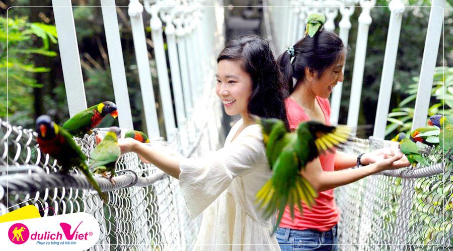 Du lịch Tết Canh Tý Tour Singapore - Garden By The Bay - Vườn Chim Jurong từ Sài Gòn