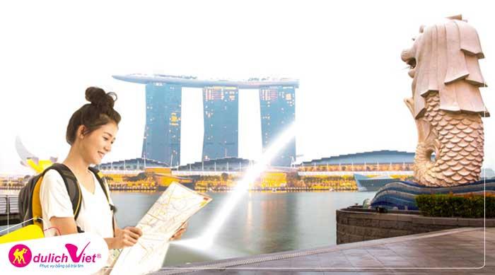 Du lịch Singapore mùa Hè Sentosa - Garden By The Bay - Vườn Chim Jurong từ Sài Gòn