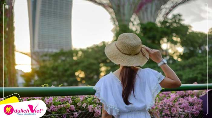 Du lịch Singapore mùa Hè - Sentosa - Garden By The Bay từ Sài Gòn giá tốt 2020