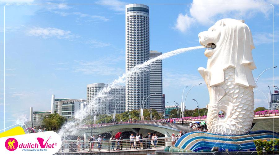Du lịch Tết Âm lịch 2020 Tour Singapore - Sentosa - Garden By The Bay từ Sài Gòn