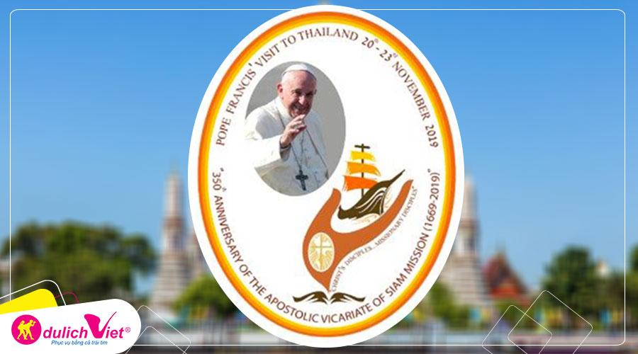 Cập nhật chi tiết chuyến tông du của Đức Thánh Cha Phanxicô tại Thái Lan
