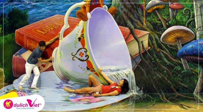 Du lịch Thái Lan mùa Hè Bangkok - Pattaya tham quan thủy cung Pattaya từ Sài Gòn giá tốt 2020
