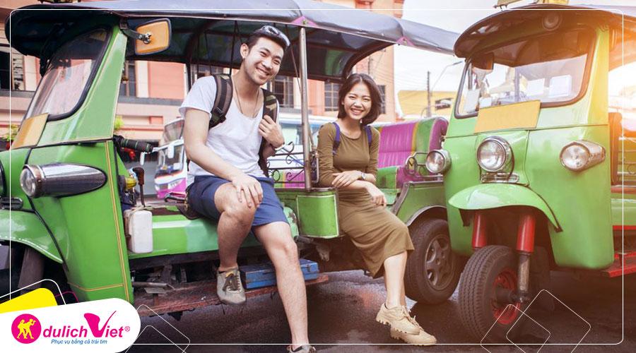 Du lịch Thái Lan Tết Nguyên đán Bangkok - Pattaya bay Vietjet Air từ Sài Gòn