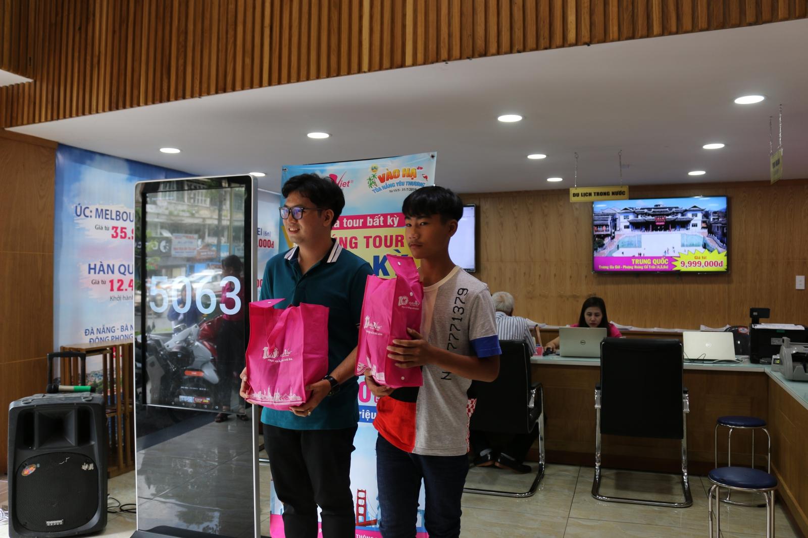 Đã tìm ra vị khách thứ 4 trúng tour Hoa Kỳ của Du Lịch Việt
