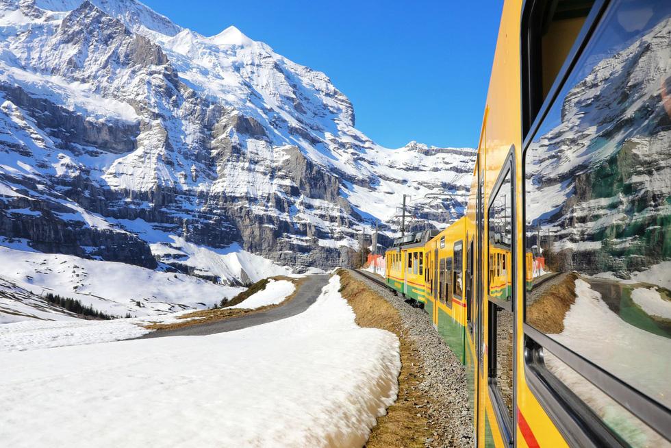 Vùng Jungfrau, tiên cảnh trần gian