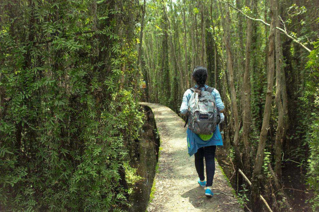 Du lịch Miền Tây khám phá làng nổi Tân Lập, Long An